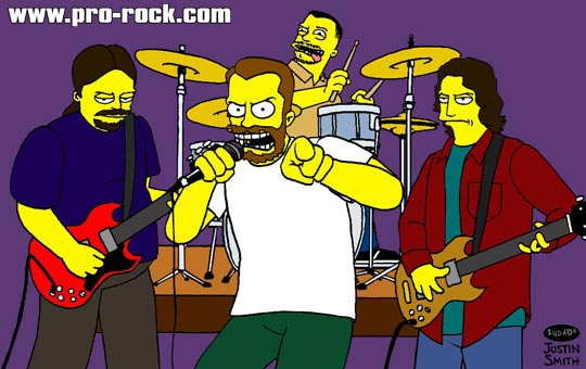 Clutch as Simpsons