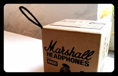 Marshall Headphones Minor, the box