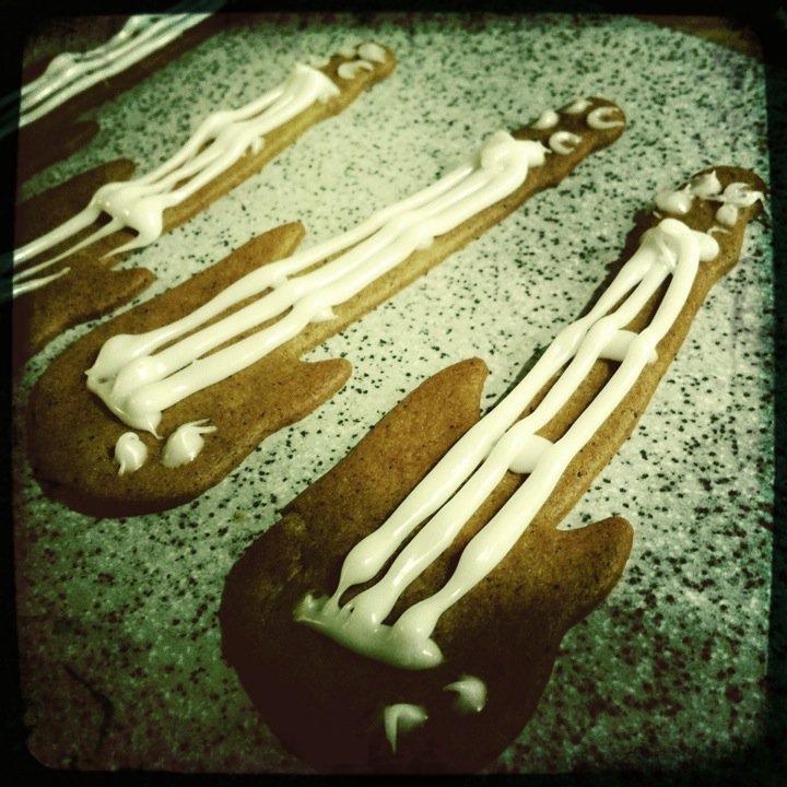Pepparkaksgitarrer