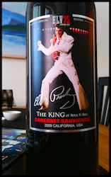 Elvis Presley - The King Of Rock N' Roll Cabernet Sauvignon 2009