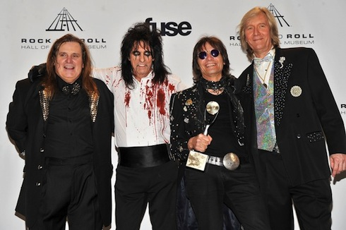 Alice Cooper Band - Rock and roll hall of fame 2011