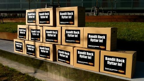 Bandit Rock flyttar in till Malmö