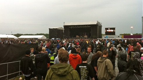 Red Stage - Metaltown 2011