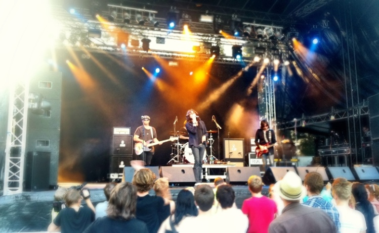 Rival Sons, Putte i parken 2011