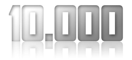 10.000 besökare