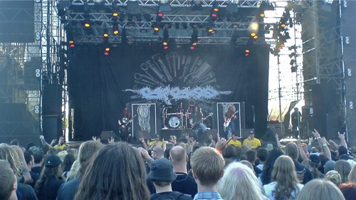Carcass - Sweden Rock Festival 2008