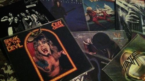 Nosegarden's vinyl samling