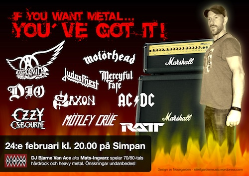 Simpan - If You've Want Metal… You Got It!