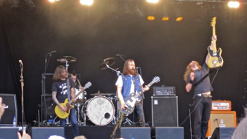 Black Spiders, Sweden Rock Festival 2012