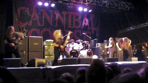 Cannibal Corpse, Sweden Rock Festival 2012