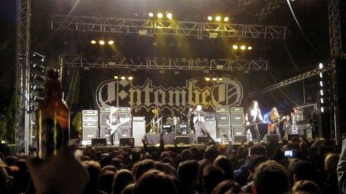 Entombed, Sweden Rock Festival 2012