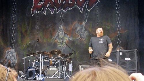 Exodus, Sweden Rock Festival 2012