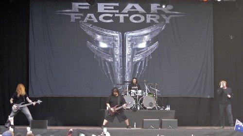 Fear Factory, Sweden Rock Festival 2012