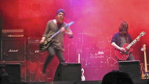 Mother of God, Sweden Rock Festival 2012