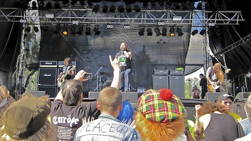 Orange Goblin, Sweden Rock Festival 2012