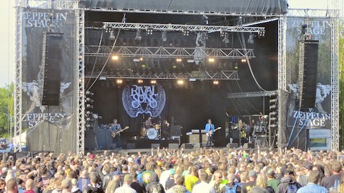 Rival Sons, Sweden Rock Festival 2012