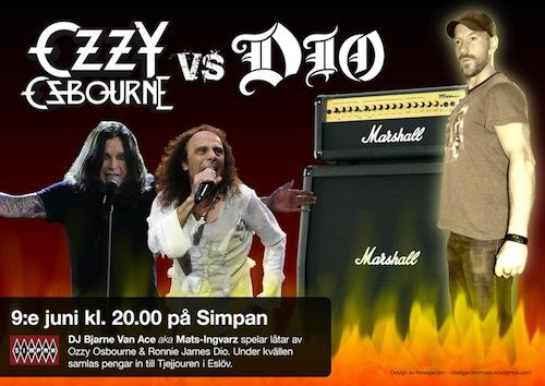 Simpan - Ozzy vs. Dio