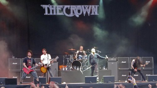 The Crown, Sweden Rock Festival 2012