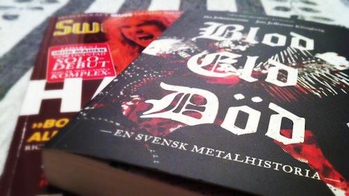 Blod Eld Död, Sweden Rock Magazine #96