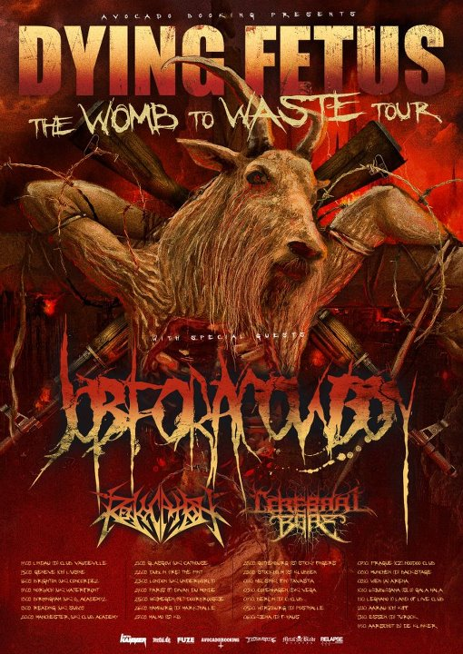 The Womb To Waste Tour 2012