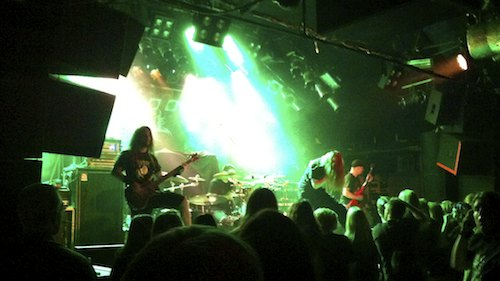 Cerebral Bore - The Womb To Waste Tour, KB 2012