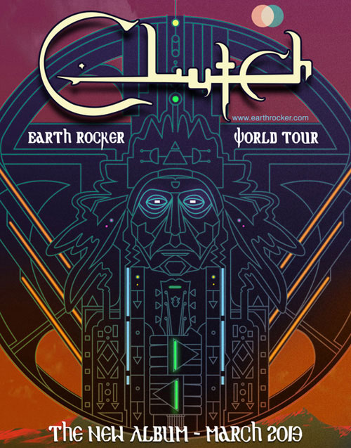 Clutch - Earth Rocker World Tour 2013