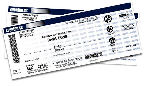 Rival Sons biljetter