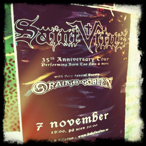 Saint Vitus och Orange Goblin 2014